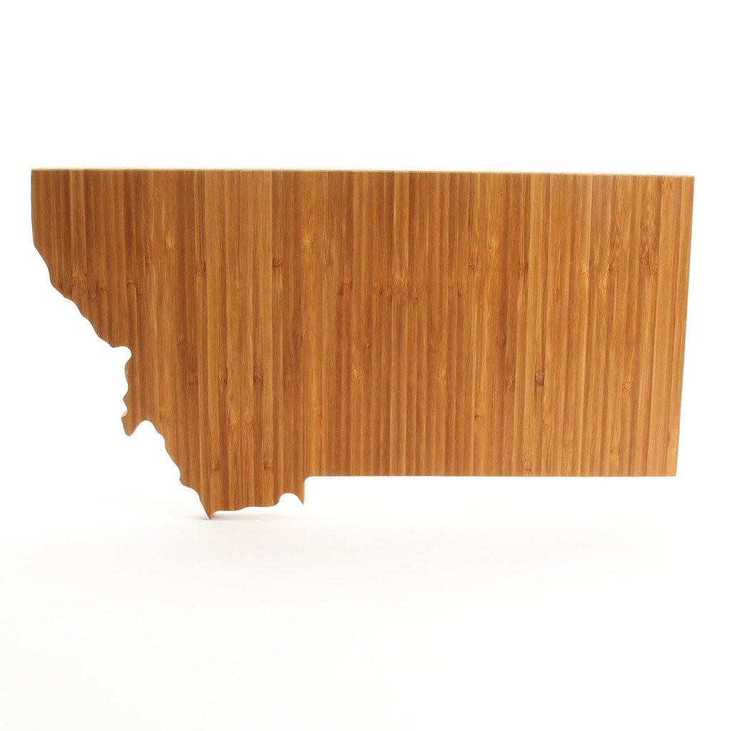 Montana State Shaped Cutting Boards