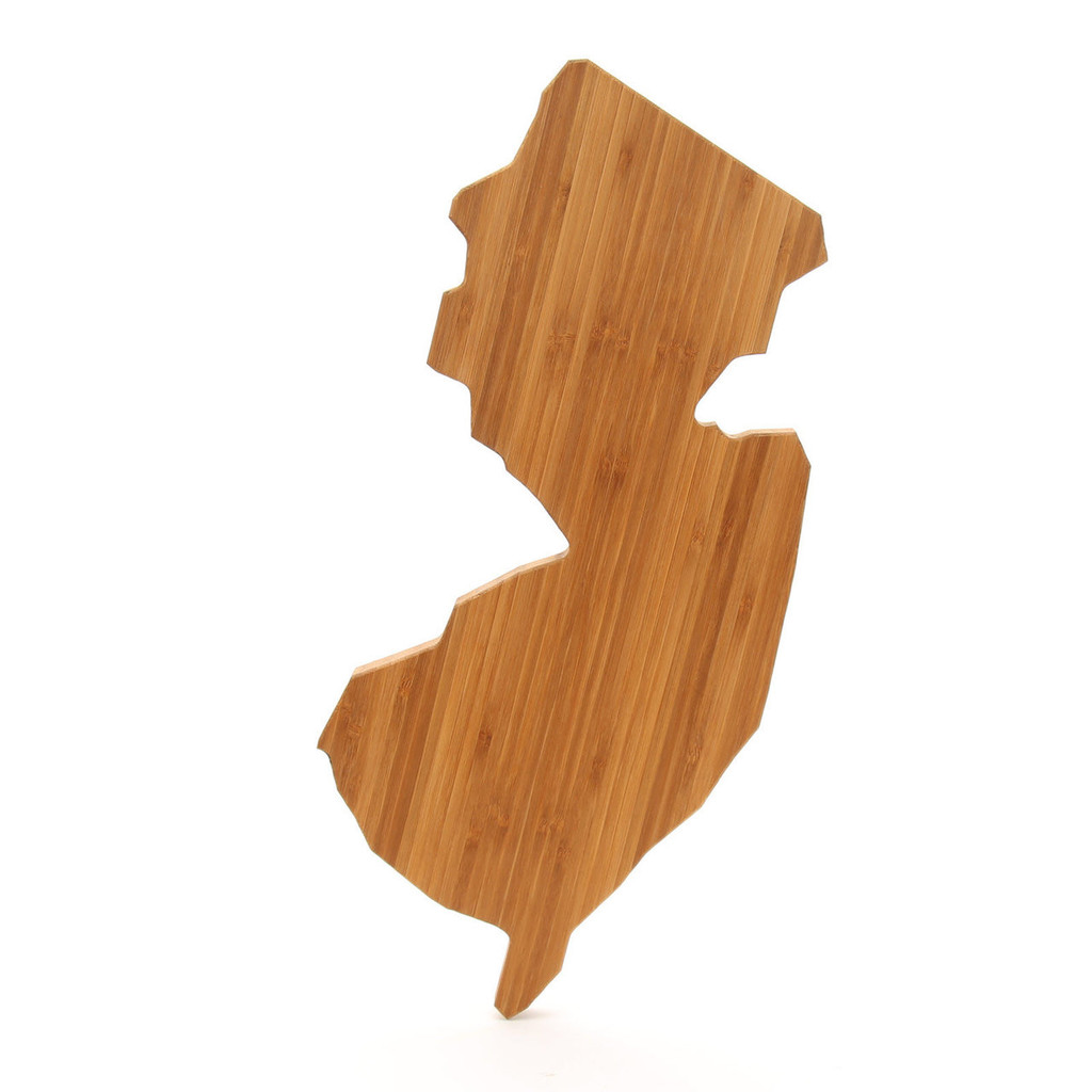 New Jersey State Shaped Cutting Boards