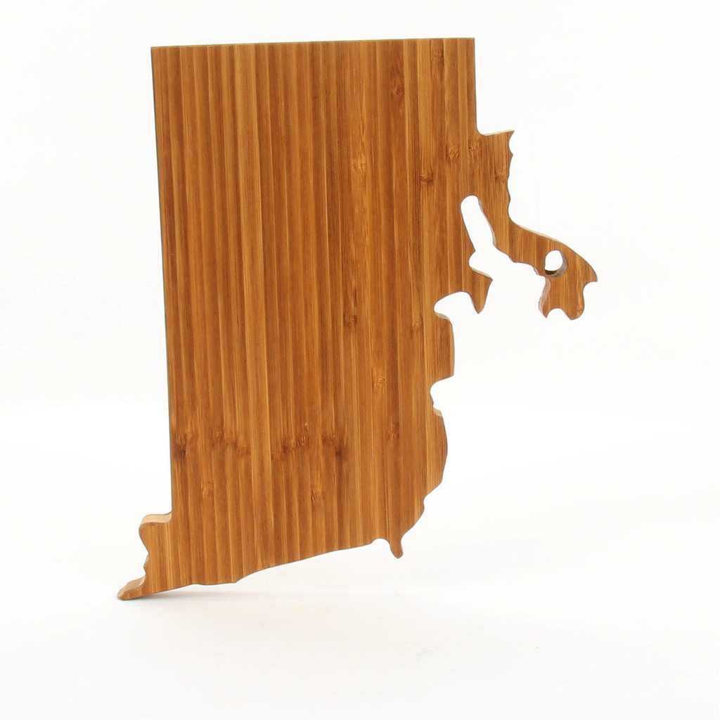 Rhode Island State Shaped Cutting Boards