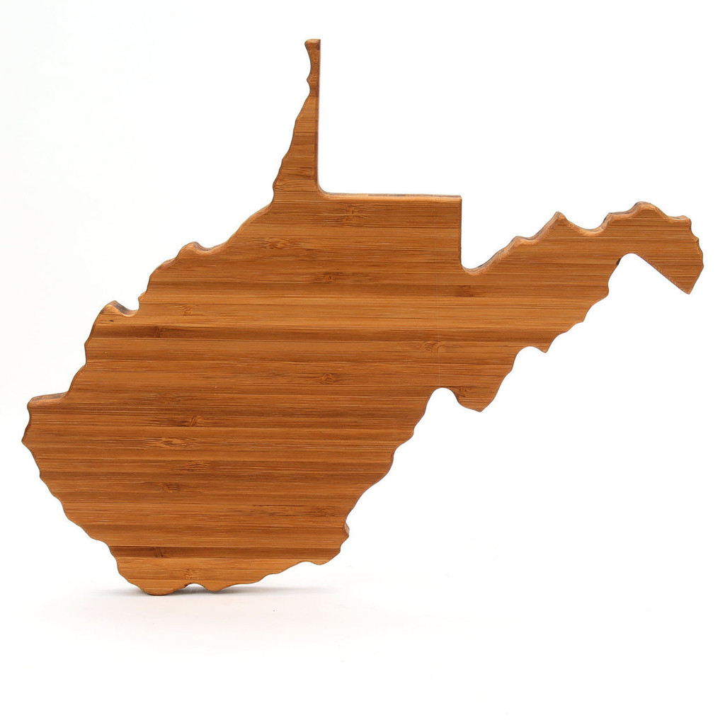West Virginia State Shaped Board