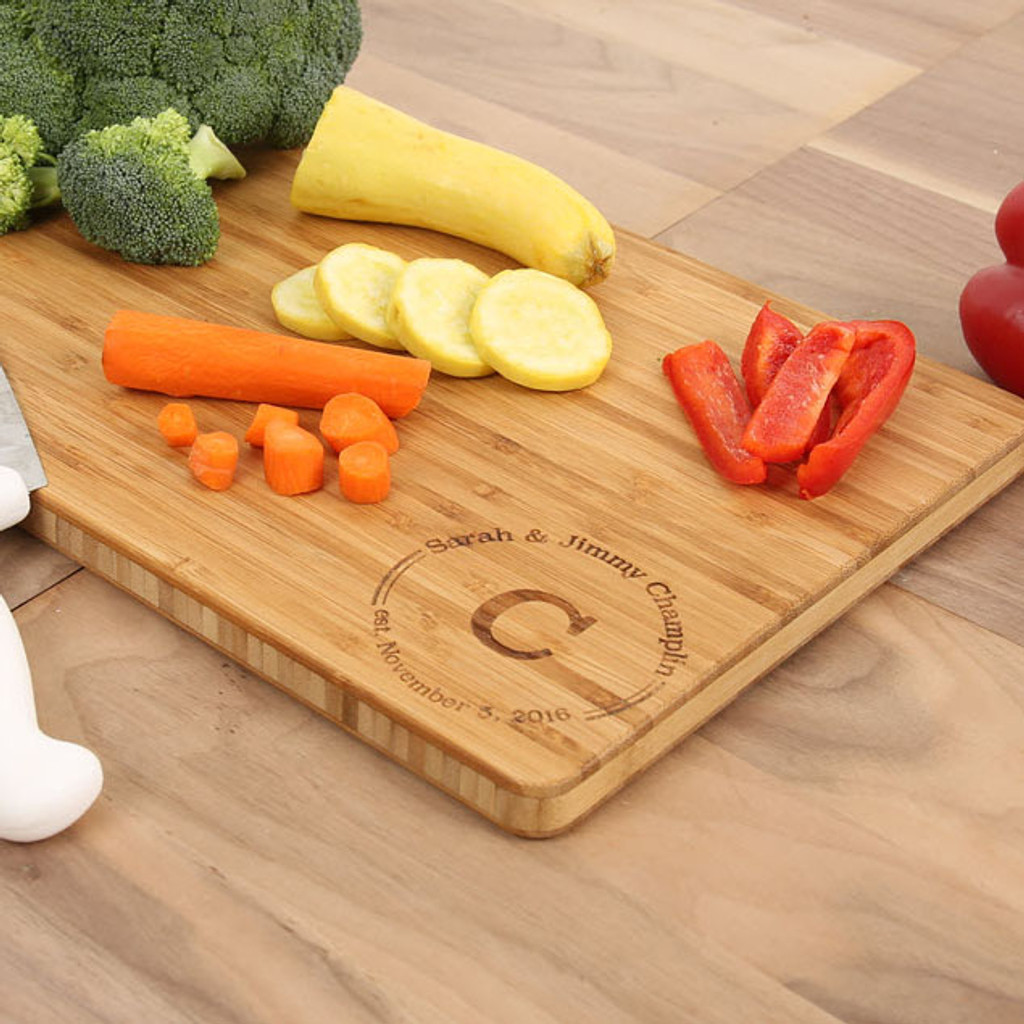 Newsie Bamboo Cutting Board