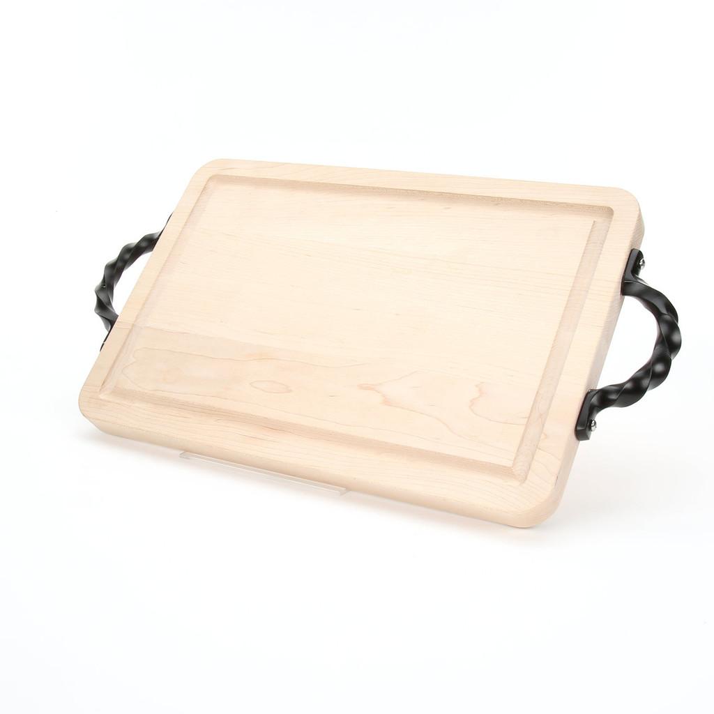 "Wiltshire 10"" x 16"" Cutting Board - Maple (w/ Twisted Handles)"