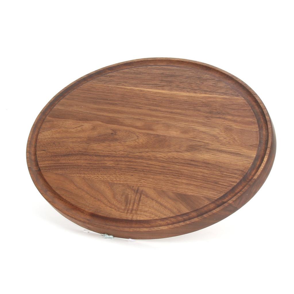 "Grandbois Standard 9"" x 12"" Cutting Board - Walnut (No Handles)"