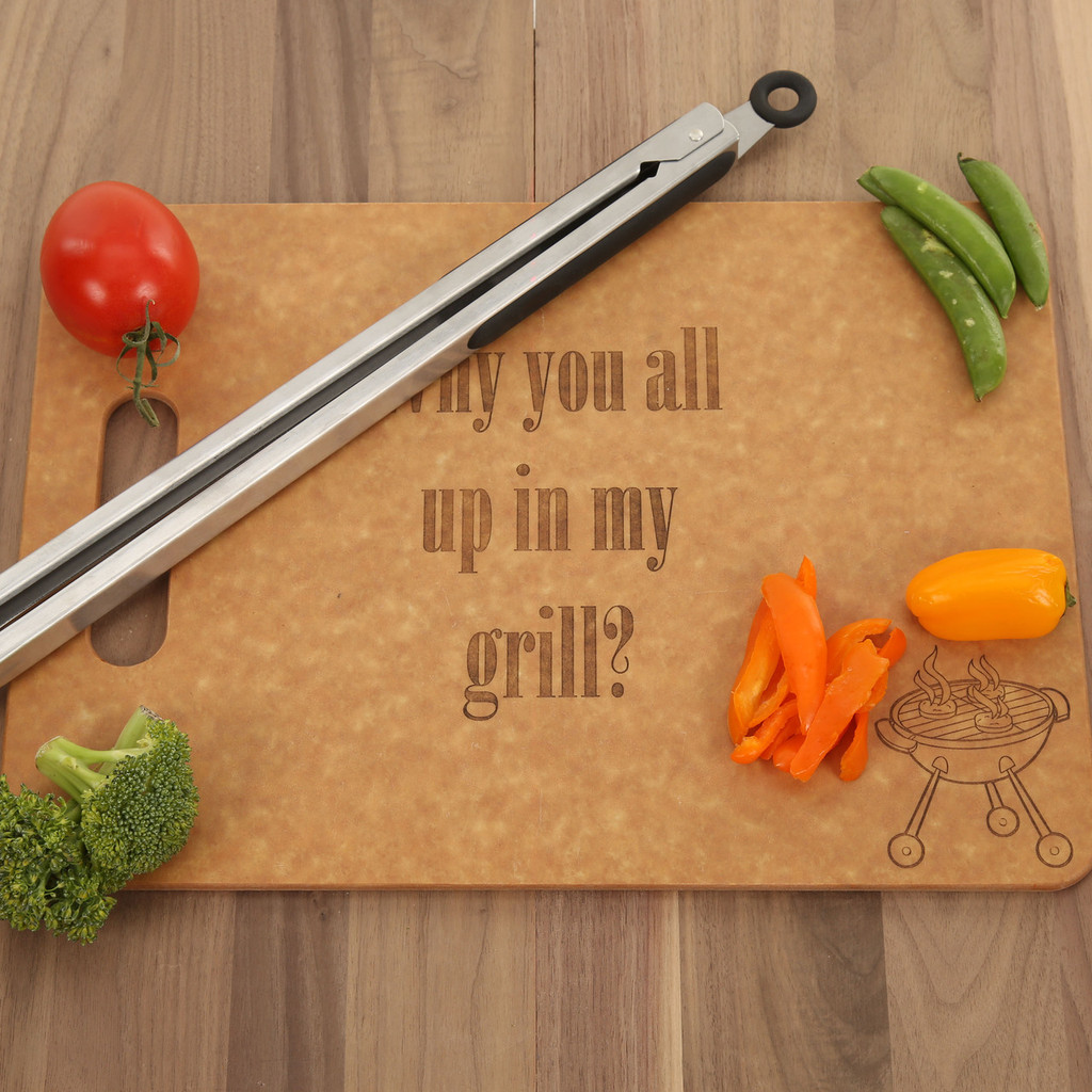 All Up In My Grill - High Temp Cutting Board