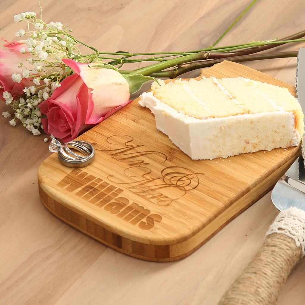Mr. & Mrs. Single Cheese Board