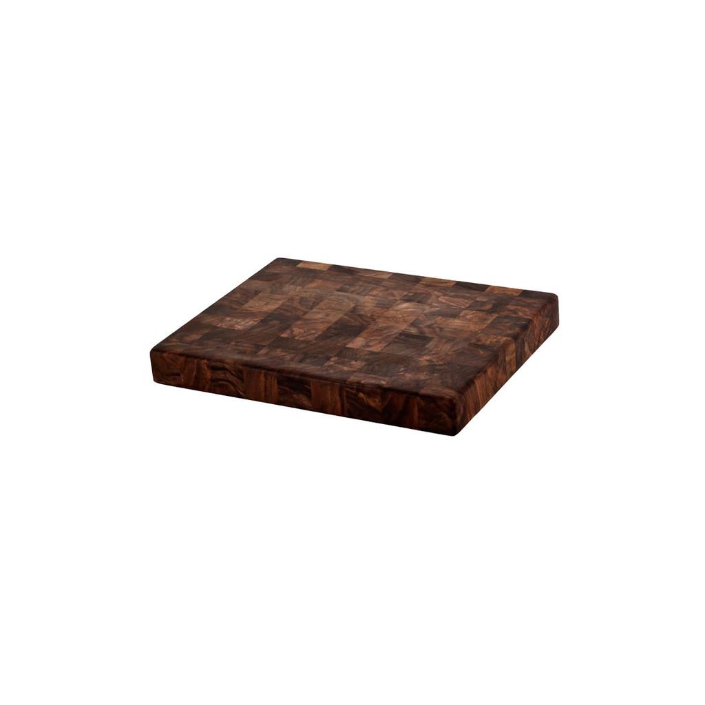 end grain walnut chopping block 9 x 12