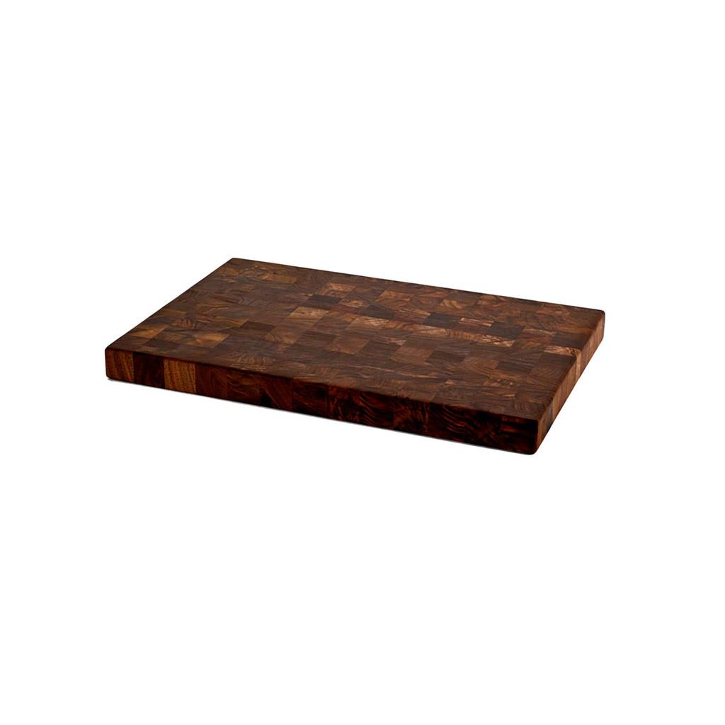 end grain walnut chopping block 12 x 18