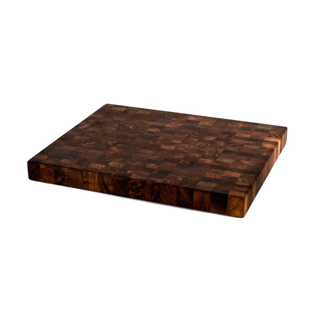 walnut end grain chopping block 16 x 20