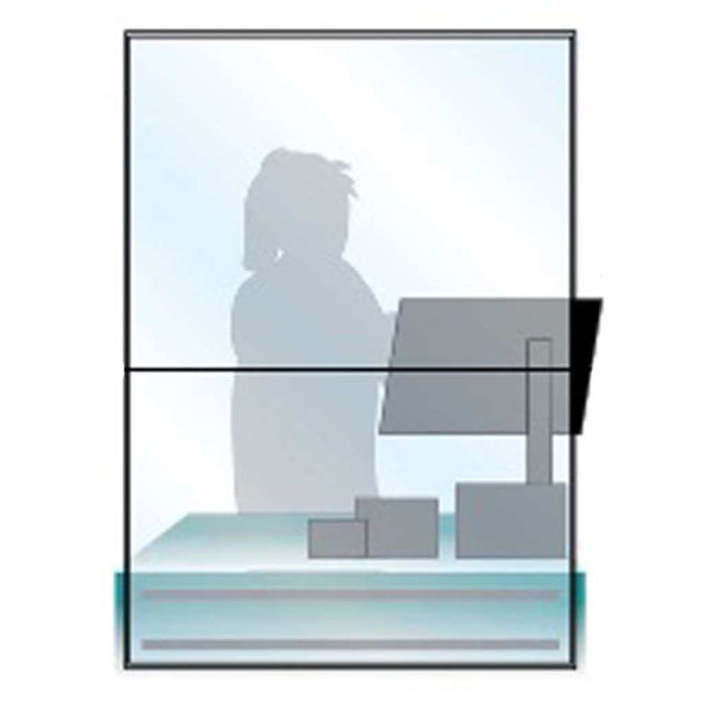 Protective Sneeze Guard, Acrylic Plexiglass Shield For Counters, Food Screen, Transaction Window for Employers, Workers & Customers, Barrier Against Coughing