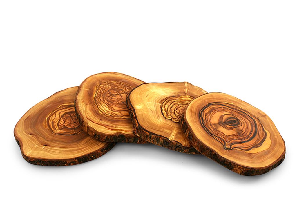 Unique olive wood server board