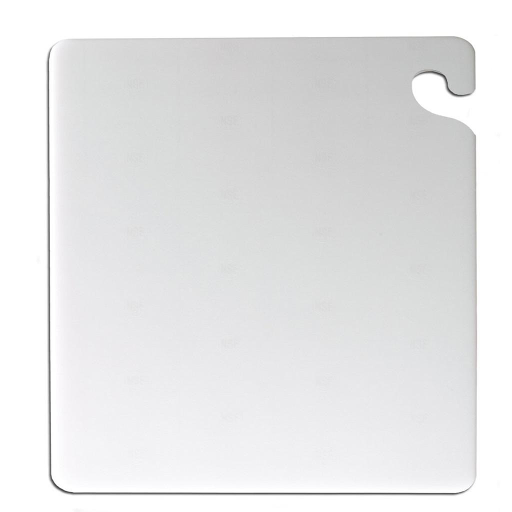 "San Jamar WHITE Cut-N-Carry Cutting Board 15"" x 20"" x 1/2"""