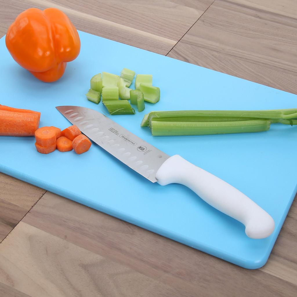 """3/4"""" Blue Poly Cutting Board"""