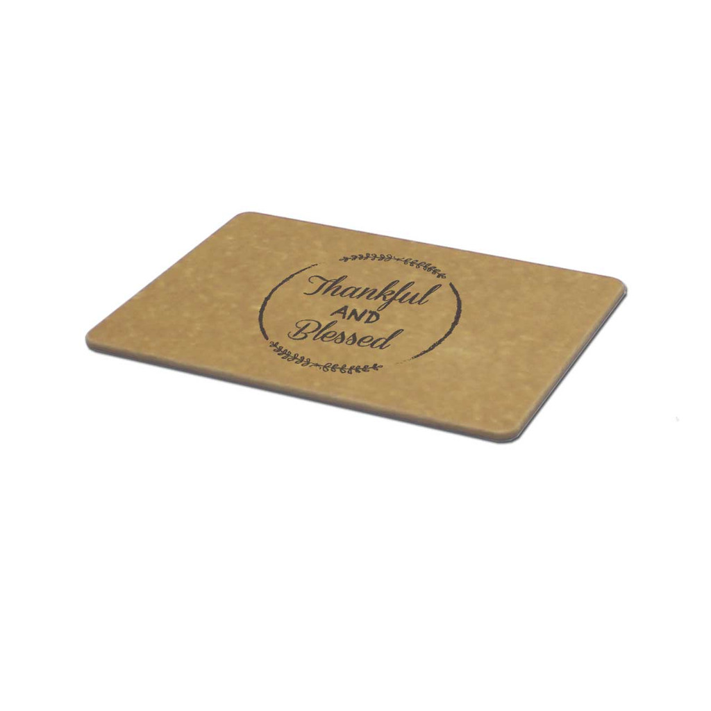 Thankful and Blessed Engraved Cutting Board