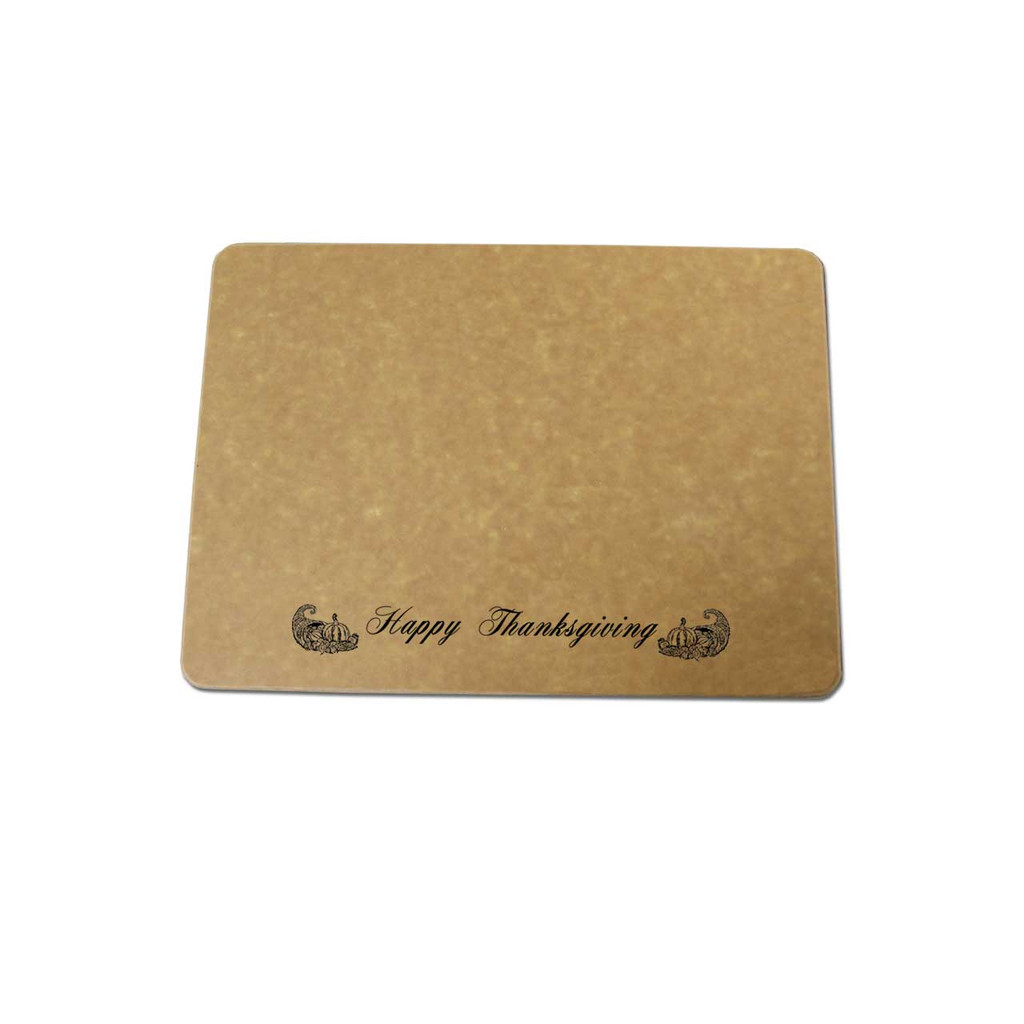 Happy Thanksgiving Engraved Cutting Board