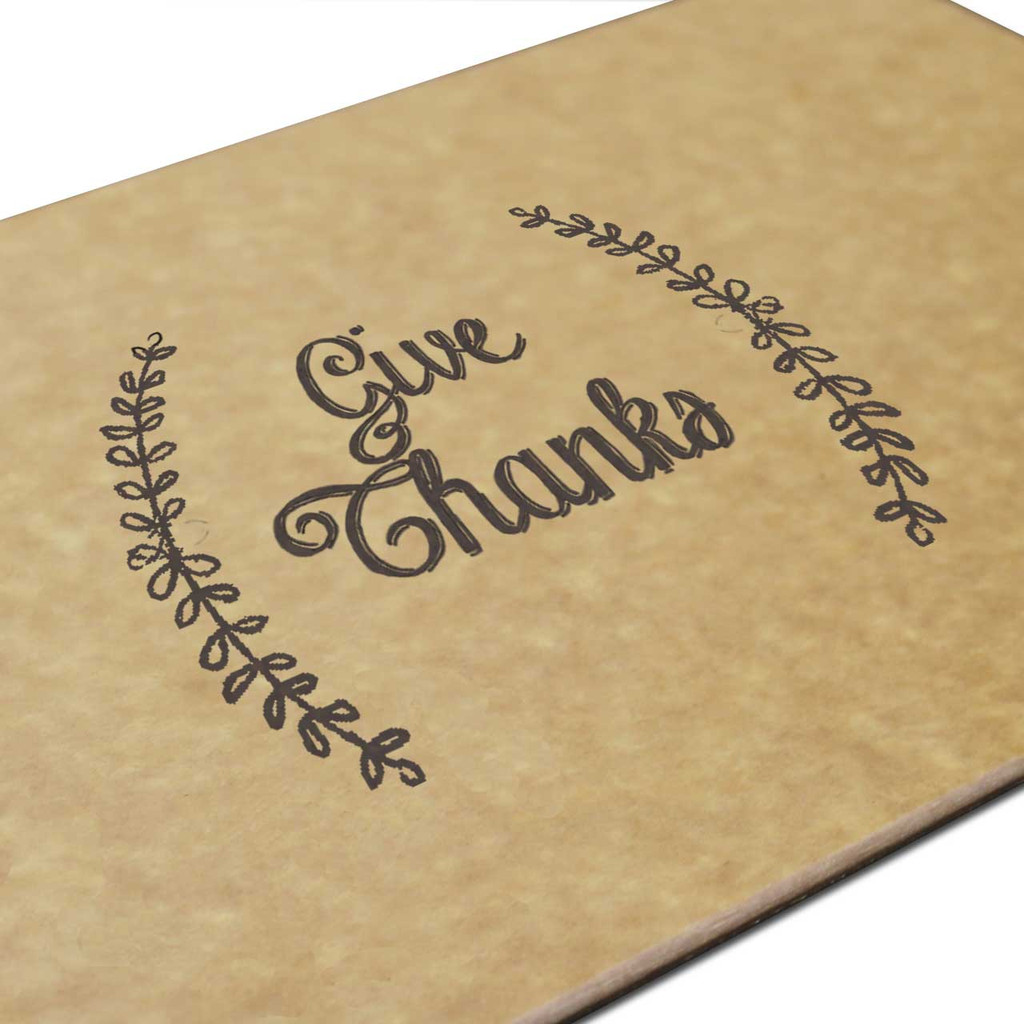 Give Thanks Engraved Cutting Board