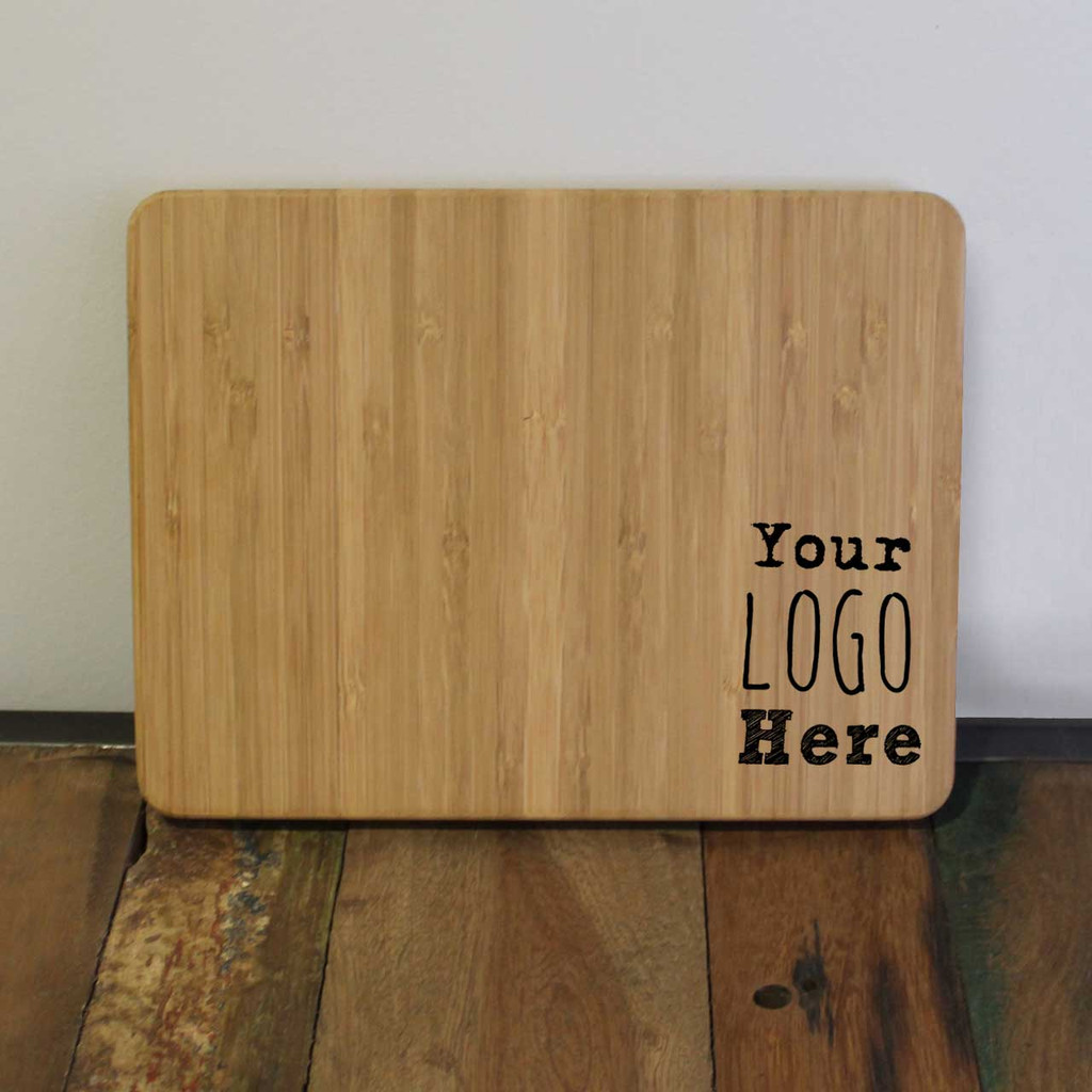 Logo Engraved Cutting Board
