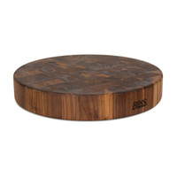 "John Boos Walnut Chopping Block - 18"" Diameter"