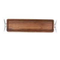 Bread Board - Walnut (w/ Cleat Handles)