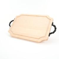 """Selwood 12"""" x 18"""" Cutting Board - Maple (w/ Twisted Handles)"""