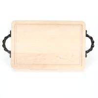 "Wiltshire 15"" x 24"" Cutting Board - Maple (w/ Twisted Handles)"