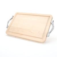 "Wiltshire 9"" x 12"" Cutting Board - Maple (w/ Rope Handles)"