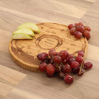Donut Worry be Happy - Round Cutting Board