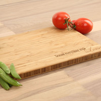 Season Everything with Love - Bamboo Cutting Board