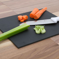 "12"" x 18"" Black Richlite Cutting Board"