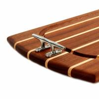 Medium Rectangle Sapele Carving Board