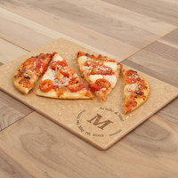 Newsie Monogrammed Cutting Board