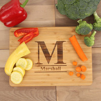 Standard Monogram Engraved Cutting Board