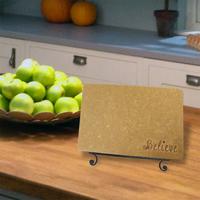 Believe Engraved Cutting Board