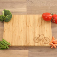 Bicycle Engraved Cutting Board