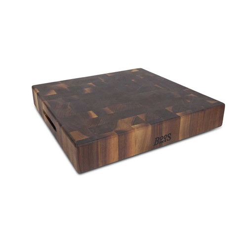 "John Boos Walnut Chopping Block - 18""x 18""x 3"""