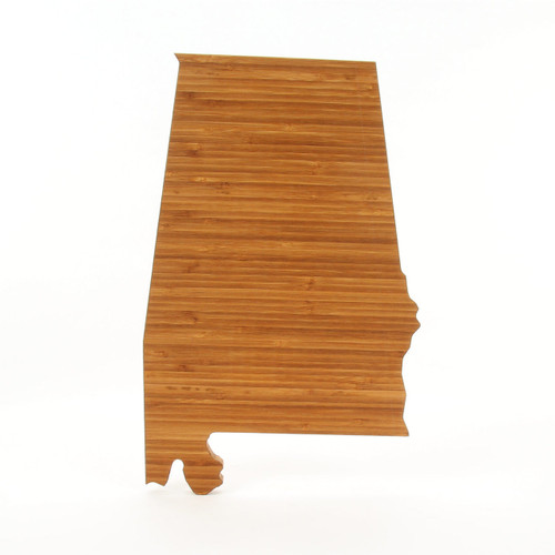 Alabama State Shaped Board