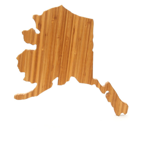 Alaska State Shaped Cutting Boards