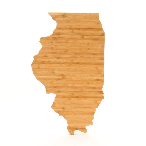 Illinois State Shaped Board