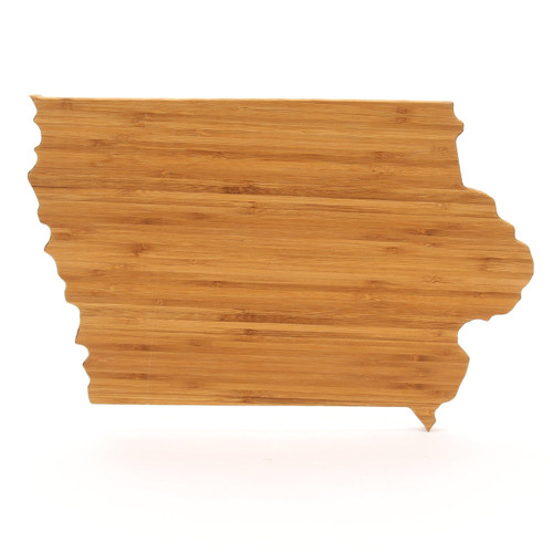Iowa State Shaped Cutting Boards