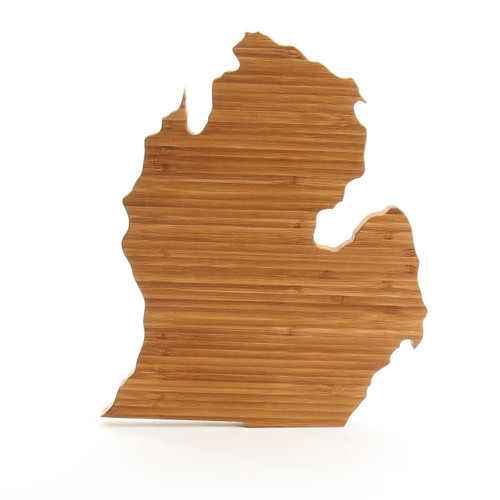 Michigan State Shaped Cutting Boards