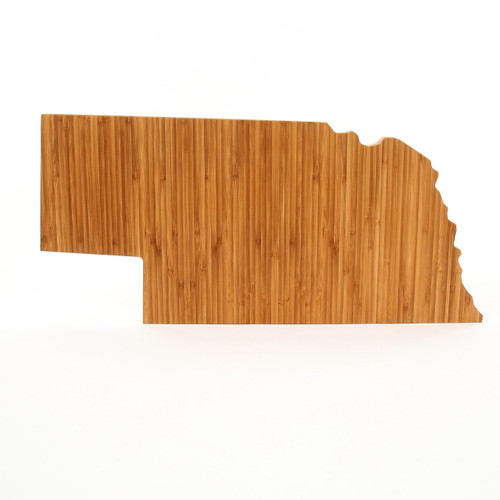 Nebraska State Shaped Cutting Boards