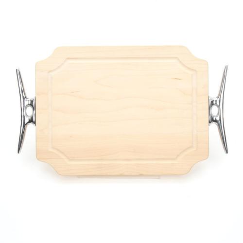 "Selwood 9"" x 12"" Cutting Board - Maple (w/ Cleat Handles)"