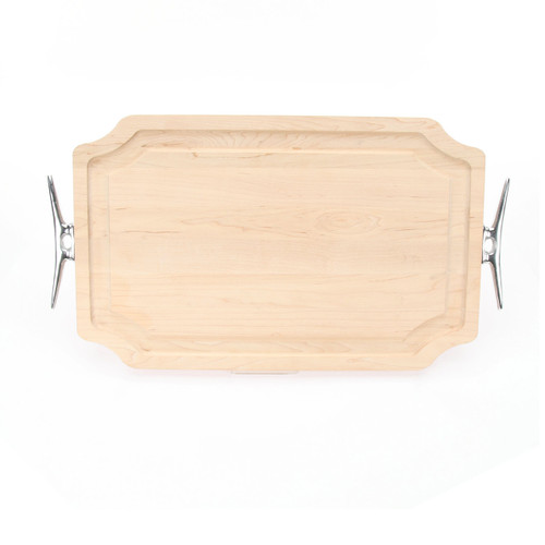 "Selwood 15"" x 24"" Cutting Board - Maple (w/ Cleat Handles)"