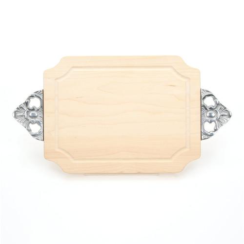 "Selwood 9"" x 12"" Cutting Board - Maple (w/ Scalloped Handles)"