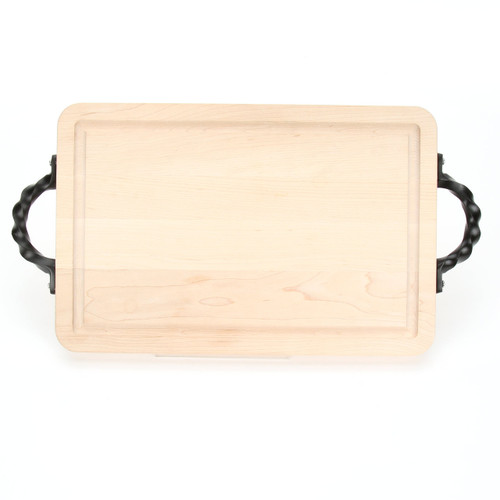 "Wiltshire 10"" x 16"" Cutting Board - Maple (w/ Twisted Handles)"