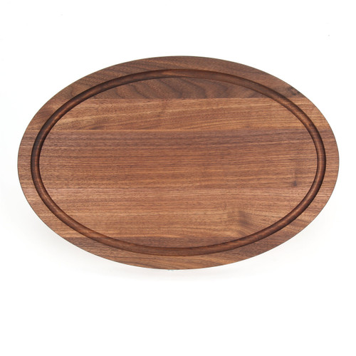 "Grandbois Standard 12"" x 18"" Cutting Board - Walnut (No Handles)"