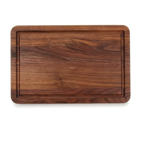 "Wiltshire 10"" x 16"" Cutting Board - Walnut (No Handles)"