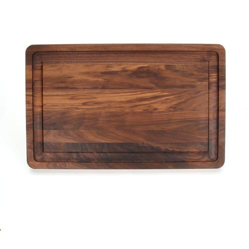 """Wiltshire 15"""" x 24"""" Cutting Board - Walnut (No Handles)"""