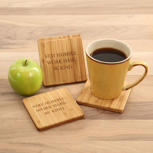 Stay Humble Coaster Set