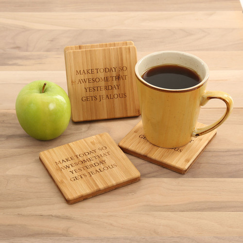 Make Today Awesome Coaster Set