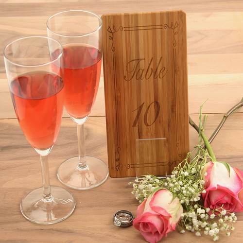 Bamboo Table Numbers